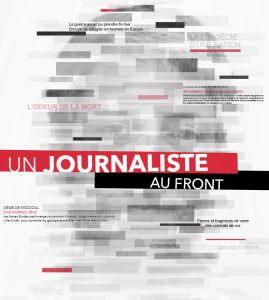 Affiche de Un journaliste au front