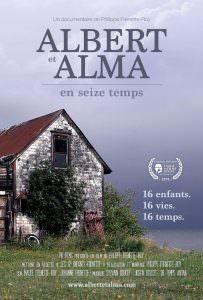 Affiche de Albert et Alma en seize temps