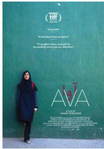 Affiche de                         Ava, de Sadaf Foroughi