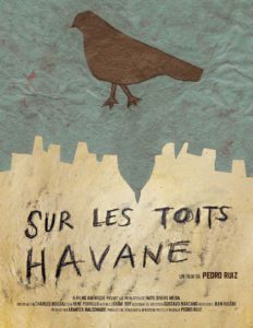 Affiche de                         Sur les toits Havane