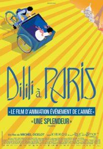 Affiche de                         Dilili à Paris