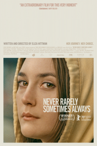 Affiche never rarely sometimes always